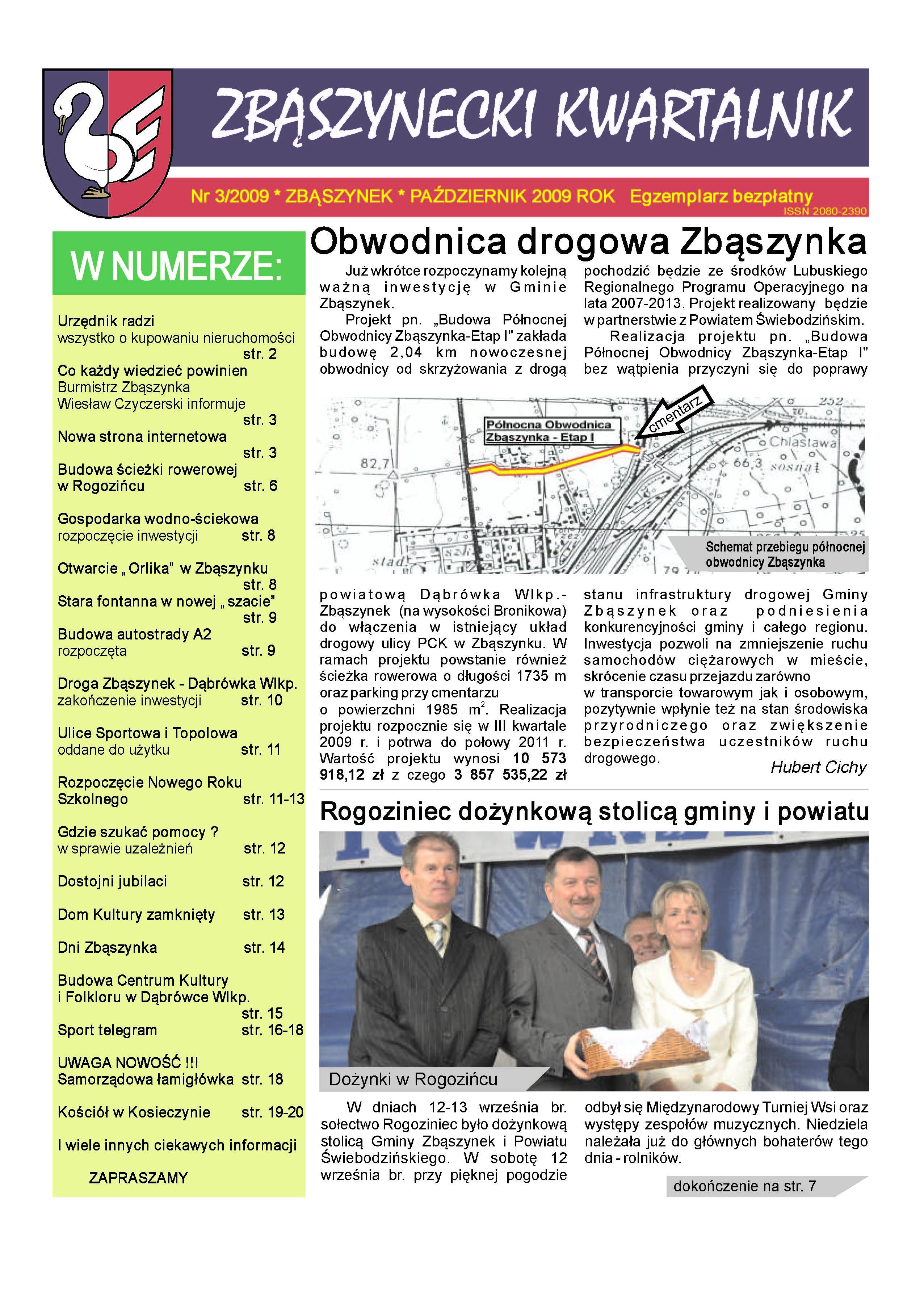 Ilustracja do informacji: Nr 3/2009