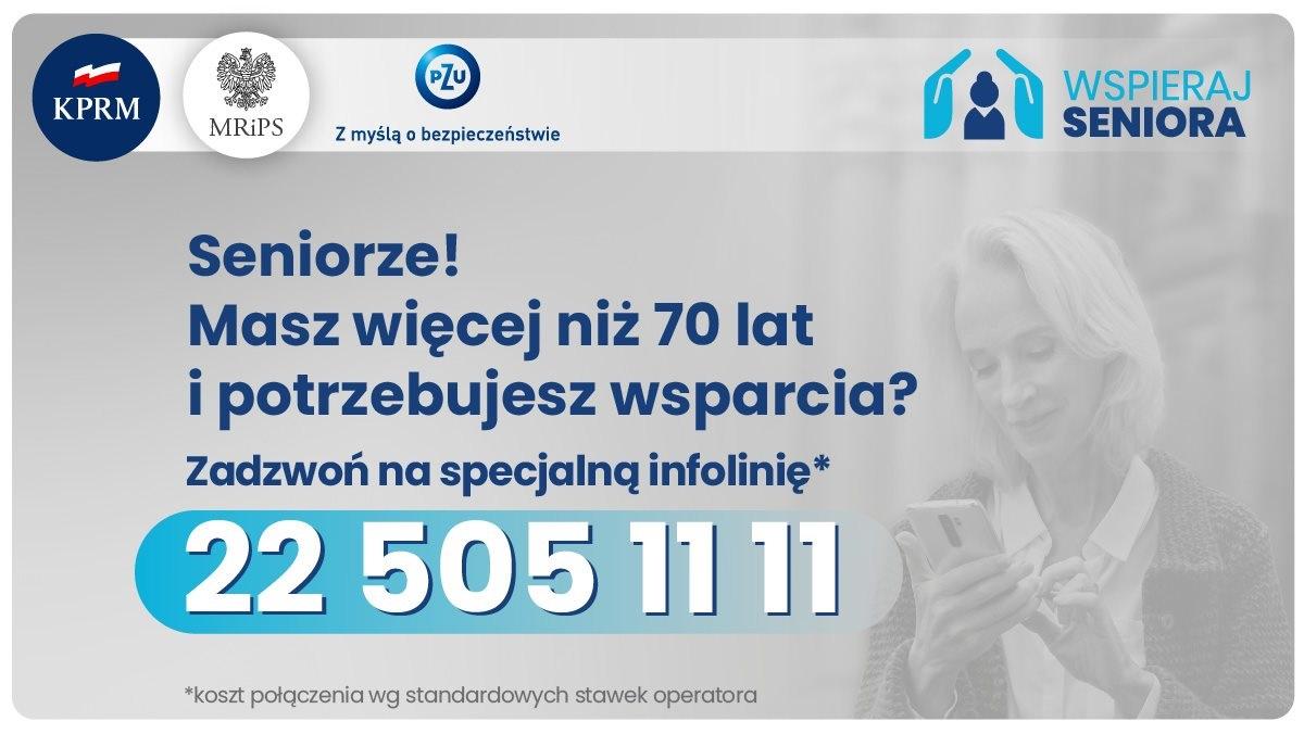 """Ilustracja do informacji: Program """"Wspieraj Seniora 2021""""-kontynuacja"""