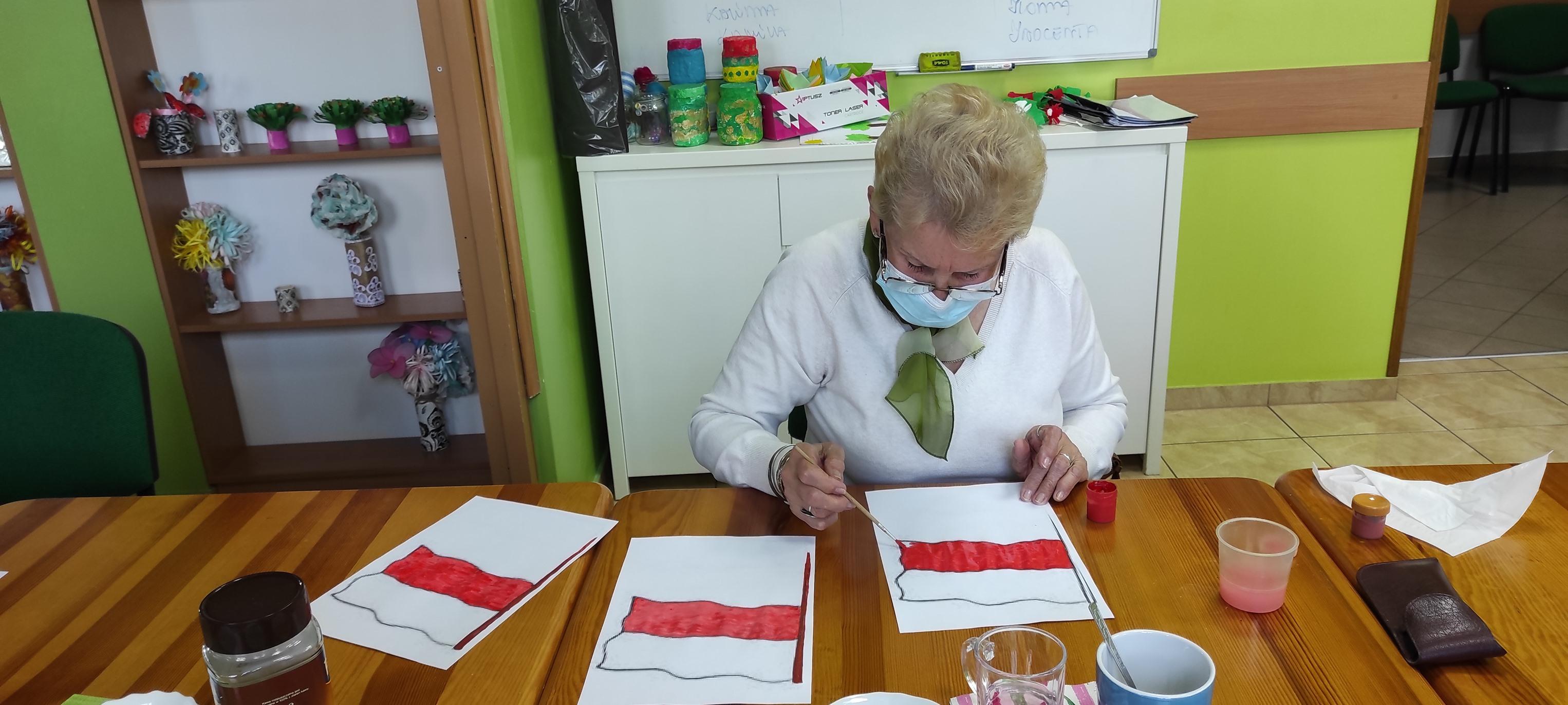 Ilustracja do informacji: Dzień Flagi Rzeczypospolitej Polskiej