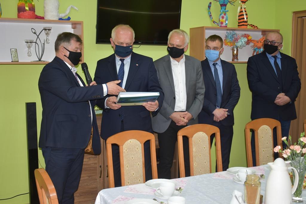 Ilustracja do informacji: Wizyta Wojewody Lubuskiego w Zbąszynku